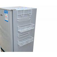 冰箱上置物架挂在冰箱调料放保鲜膜旁边收纳壁挂侧挂架厨房置物架