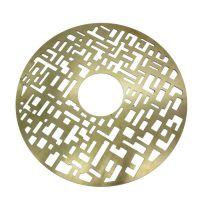 黄铜板 紫铜板 黄铜片铜带超薄垫片 铜板雕刻腐蚀 激光切割圆片