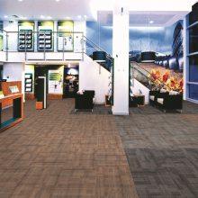 芬豪 办公室方块拼接地毯 会议室写字楼商用工程满铺防火地毯