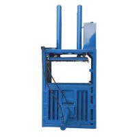 热销小型家用立式液压打包机 惠民废铝废铁金属压块机