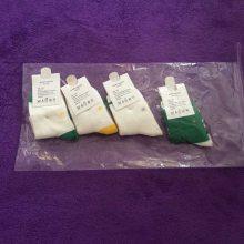 P198儿童袜子厂家批发国豪棉品童袜秋冬卡通刺绣条纹短袜宝宝袜子
