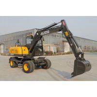 全新75轮式挖掘机 价格优惠 小型挖掘机 全国销售