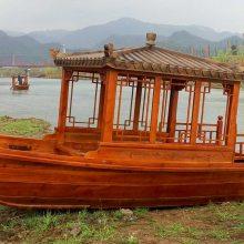 木船厂家出售浙江山东手划观光船 玻璃钢船 电动船 休闲服务类船