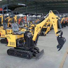 电缆挖掘小挖机价格大全 旱厕改造加长臂小型挖掘机
