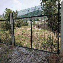 花园围栏厂家 铁丝网围栏 双边丝护栏网