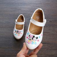 2018春秋新款女童婴儿皮鞋卡通可爱公主鞋 宝宝学步软底单鞋