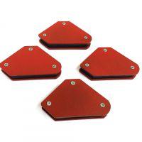 9Lb迷你4件套三角焊接定位器磁性固定角度工具电焊配件45°90°