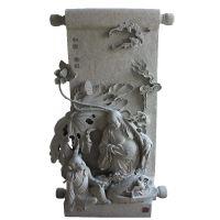 石膏浮雕墙 青石仿古影壁照壁墙多种样式