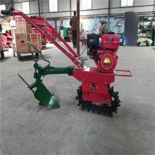 自走式汽油柴油四驱前旋机 小型微耕机 除草机 旋耕机