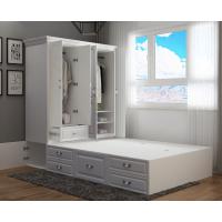 踏踏米床榻榻米床现代简约小户型床柜一体床省空间的床高箱储物柜