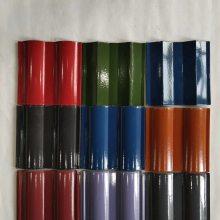 天津武清屋面瓦厂家琉璃瓦陶瓷瓦招金全瓷彩瓦屋面全瓷瓦