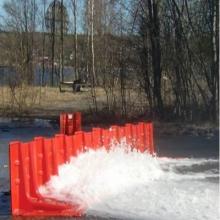 防汛挡水板车库防水板ABS复合板抗洪挡水板隔离水板工地防水防雨