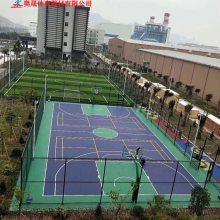 柳州球场丙烯酸面层施工厂家 塑胶网球场地面建设|改造
