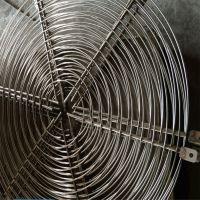 奥科生产铁丝网风机网罩 圆形风机防护网 机械金属网罩