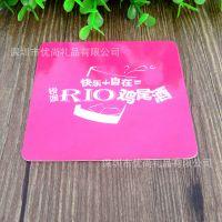 深圳厂家定制 吸水纸广告杯垫 吸水纸酒吧杯垫 LOGO酒吧纸质餐垫
