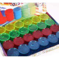 水晶彩泥鬼口水沙皮胶液态玻璃橡皮泥玩具厂生产无硼原料代替瓜尔胶