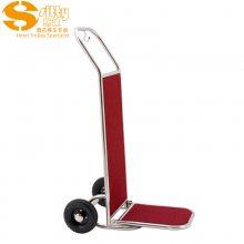 专业生产SITTY斯迪90.2003镜光304不锈钢手推行李车