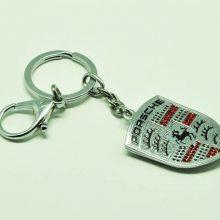定制汽车钥匙扣挂件 金属车标钥匙扣挂件制作 汽车logo钥匙扣定制