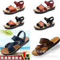 厂家直销跑江湖地摊产品越南硅胶时尚休闲凉鞋拖鞋