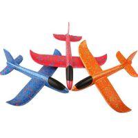 35厘米泡沫飞机特技耐摔儿童手抛航模飞机滑翔机户外亲子玩具模型