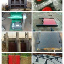 13*3米平面方形闸门类型 铸铁闸门的使用安装方法