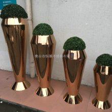 不锈钢花盆,园林景观装饰花盆,室外创意花钵,户外组合花箱加工定制