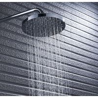和地狼塑料花洒顶喷淋浴头喷头淋雨喷头