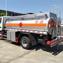 安徽阜阳5吨油罐车大量现车,东风多利卡流动加油车厂家直销包上牌