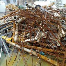上海大量回收工地工程拆除后废铁 废铁料 废钢金属等