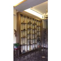 订制装饰酒店不锈钢花格,不锈钢订制隔断屏风
