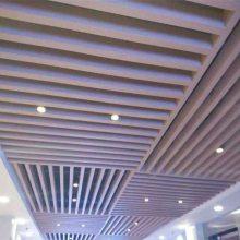 白色铝方通 铝型材转印方通铝天花 方通吊顶