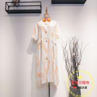 名品女裝折扣店M·X短袖純棉連衣裙四季青杭州女裝貨源多種款式新款組貨包