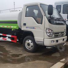 福田小卡5吨洒水车锡柴发动机可出口可厂内使用,国三排放无法上牌,经济实用