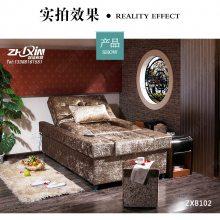 重庆哪里可以定做电动足浴沙发,足疗沙发厂家批发多少钱一张ZXB102