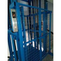 罗村带电梯按钮的升降平台 液压油缸导轨链条式升降机升高2米 佛山电动升降台厂家定做