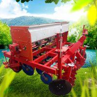 亚博国际真实吗机械 大棚种植娃娃菜油菜精密播种机 大马力拖拉机带4到8行播种机 免耕六行玉米播种机
