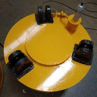 厂家生产 废钢电磁吸盘 强磁电磁铁 70cm圆形吸盘 废钢厂磁盘