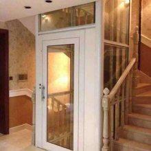 杭州家用电梯、3.8米家用电梯、适合2-6层别野安装、无底坑无机房电梯