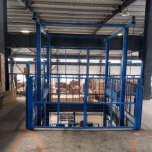 上饶工地专用液压升降台 油缸链条式升降货梯 导轨式升降货梯 可定制尺寸