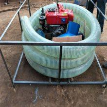 软轴耐用型抽粮机 润丰 自动进料油电两用吸粮机