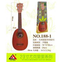 六美23#儿童尤克里里儿童吉他玩具批发精致小巧音乐达人玩具188