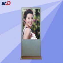 深圳视康达43寸立式广告机液晶显示刷卡带摄像头非触摸排队叫号机安卓单机版