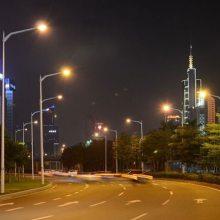 城市道路照明工程效果图-远大照明工程-城市道路照明工程