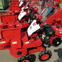 全自动农用掰棒子机 小型自动化玉米收获机 秸秆粉碎还田机 澜海