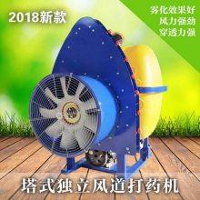 苹果树梨树打药喷雾机 大型果园地打药机 拖拉机悬挂式扇形打药机