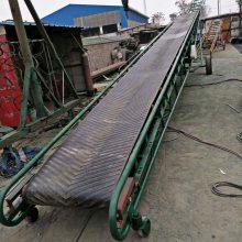 平武县粮仓装车移动式皮带输送机 自动升降皮带机 小型粮食传送机