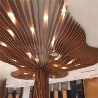 购物城弧形铝方通-购物城孤形铝方通吊顶-金属弧形铝天花