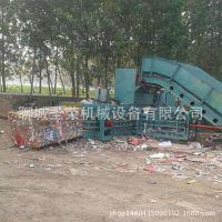 重庆卧式废塑料瓶液压打包机价格