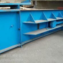 移动刮板运输机 防尘自清式刮板输送机