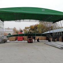 安徽合肥厂家定做推拉大排档烧烤帐篷 带脚轮移动汽车车库 推拉篷 遮阳蓬 雨棚